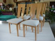 Tapisserie chaises contemporaines